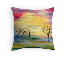 Electrified Day  Throw Pillow