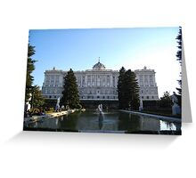 Royal Palace, Madrid Greeting Card