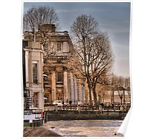 Trafalgar Inn and College, Greenwich Poster