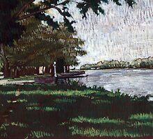 A la sombra de los árboles by illapati