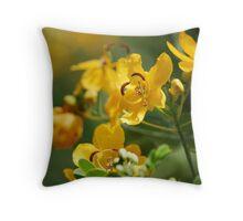 Yellow Passion  Throw Pillow