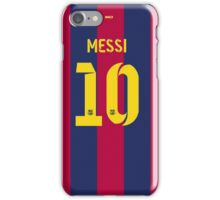 Messi10 iPhone Case/Skin