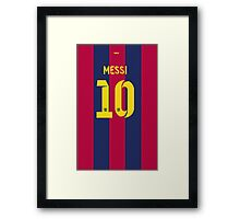 Messi10 Framed Print