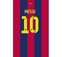 Messi10 Photographic Print