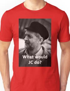 What would JC do Unisex T-Shirt