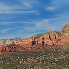 Sedona Panorama by Judy Grant