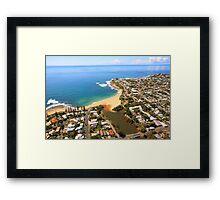 Moffat Beach Framed Print