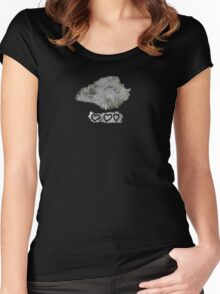 Butte Montana - Quartz and Pyrite Women's Fitted Scoop T-Shirt