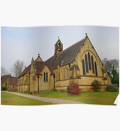 All Saints Church, Langton Green Poster