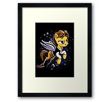 My Rebel Pony Framed Print