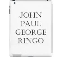 The Fab Four iPad Case/Skin