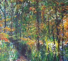 Autumn Woods by LauraJennings