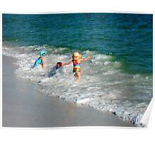 Children at Play Poster