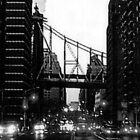Queens boro Bridge (aka 59th street bridge) crossing MANHATTAN,  York Avenue, Mahattan by photographist