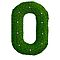 Topiary Alphabet &quot;o&quot; Coloured by Donnahuntriss