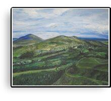 Malvern Hills 1 Canvas Print