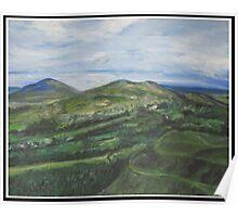 Malvern Hills 1 Poster