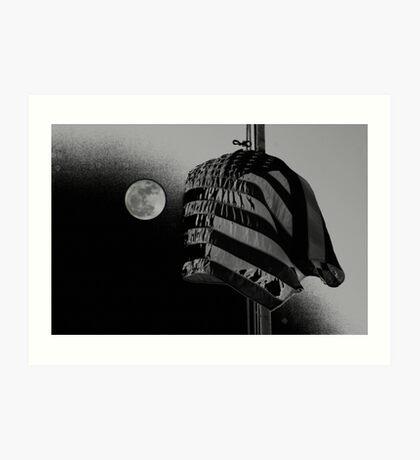 Glory in Black and Grey Art Print