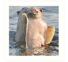 Wanna fish? Art Print