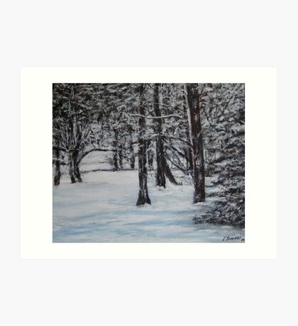 Snowy Day Art Print