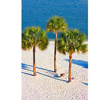 Lazy Afternoon Under The Palm Trees 2 Photographic Print