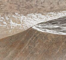 Sand and Mountain Landscape by Marilyn Cornwell