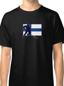 I Love Suomi ~ Finland Hockey Flag T-Paidat Shirt Classic T-Shirt