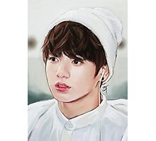 White Kookie Photographic Print
