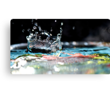 Neptune's Crown Canvas Print