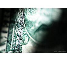 American money Photographic Print