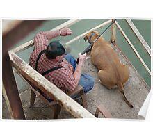 Fishing among Friends Poster