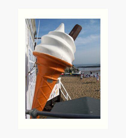 Seaside Cone Art Print