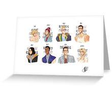 Cast of 'Until Dawn' Greeting Card
