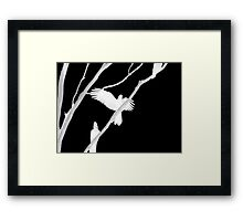 Escape to Another World Framed Print