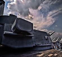 Firepower - USS Alabama by Jim Haley