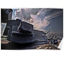 Firepower - USS Alabama Poster