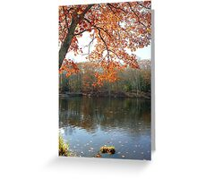 Autumn Foliage in New England Greeting Card