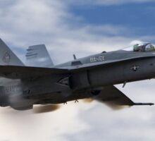 F/A - 18 Vapor Sticker