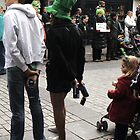 Difference between teens and kids at a parade by contradirony