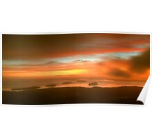 Cadillac Mountain Sunrise  Poster