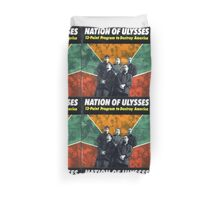 NATION OF ULYSSES - 13 POINT PROGRAM TO DESTROY AMERICA Duvet Cover