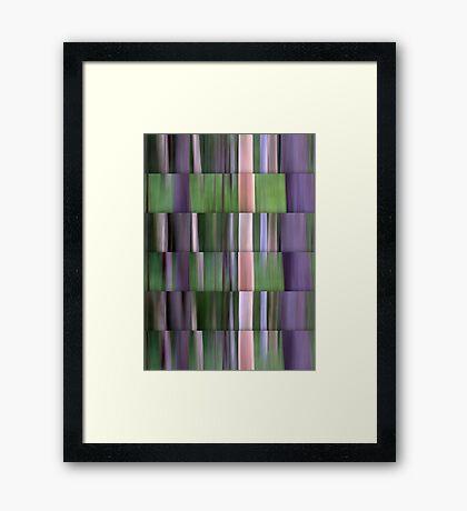 Bushland Abstract Framed Print