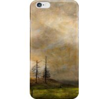 SILHOUETTES IN THE STORM iPhone Case/Skin