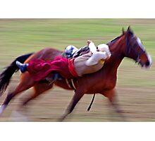 Cossack Horseman Photographic Print