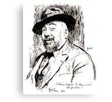 Jules Alexandre Grün Lucien Boyer en 1920 Canvas Print