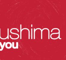 FUKUSHIMA 50  Thank you! (Rising Sun) Sticker