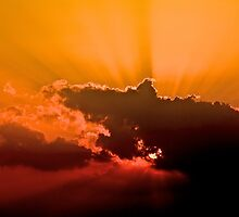 Spring Sunset by Bill Wetmore