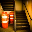 Barrels In A Corner by Eric Scott Birdwhistell