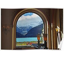Lake Louise through the Looking Glass Poster