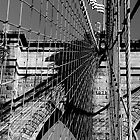 Brooklyn Bridge by Leon Heyns